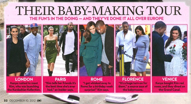 This Week in Tabloids: Babysplosion! Kim Kardashian, Duchess Kate, and Jessica Simpson Are Pregnant