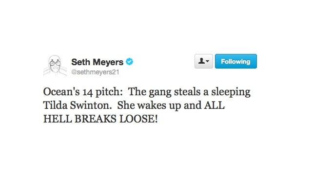 Seth Meyers Has Come Up With The Ultimate Heist
