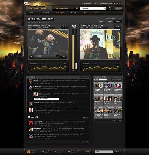 Def Jam Rapstar's Online 'Data Porn' Rolls Deep