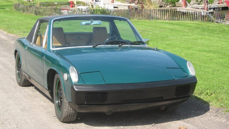 This 1975 Porsche 914 Has A Big Motor And A $5,500 Price Tag