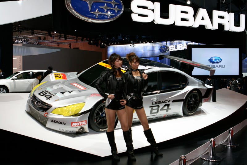 Why We Wish Subaru Was In NASCAR