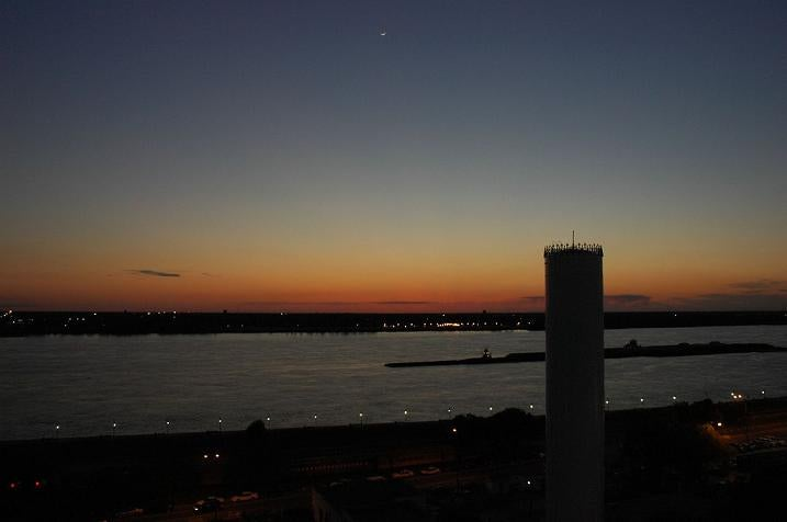 The Sunset Splendor of Ozone