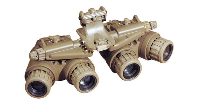 The Four-Eyed Night Vision Goggles that Helped Take Down Bin Laden
