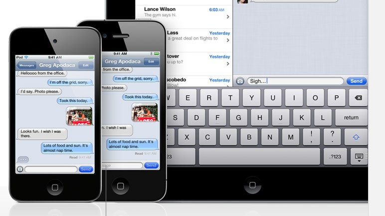 Apple Thumbs Its Nose at Carriers By Launching iMessage Without Warning
