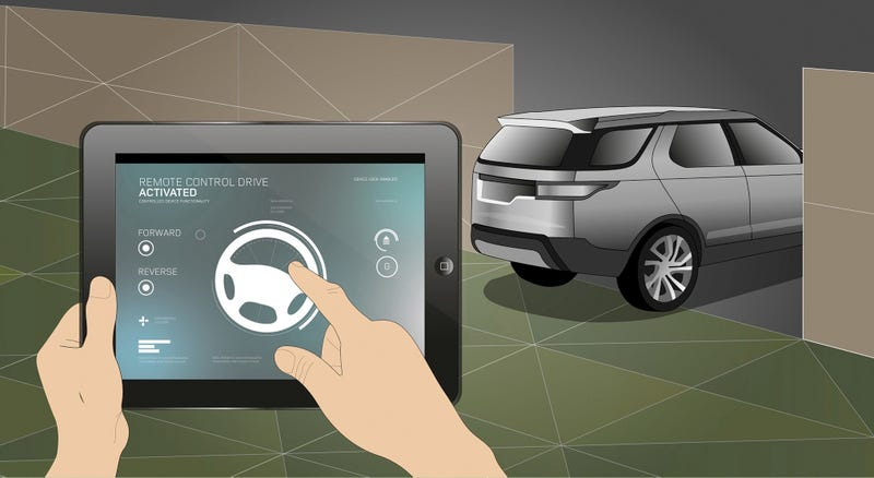 Here's How You Might Drive Your Next SUV From A Smartphone