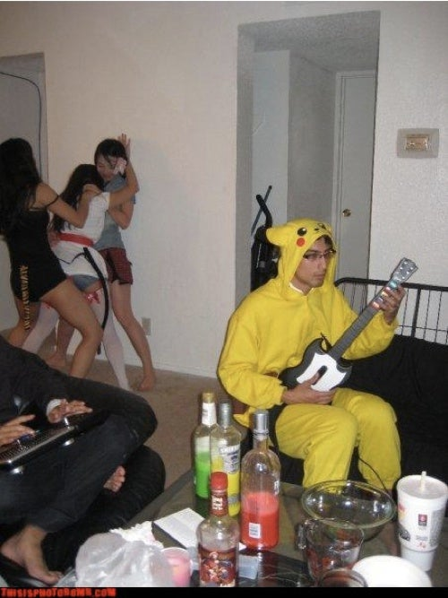 NSFW: Pikachu Misses Out On The Real Party