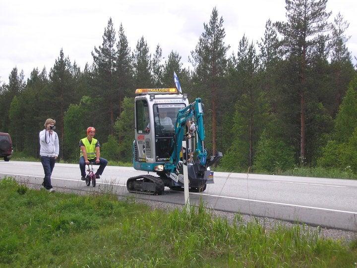 Excavator Mutanen