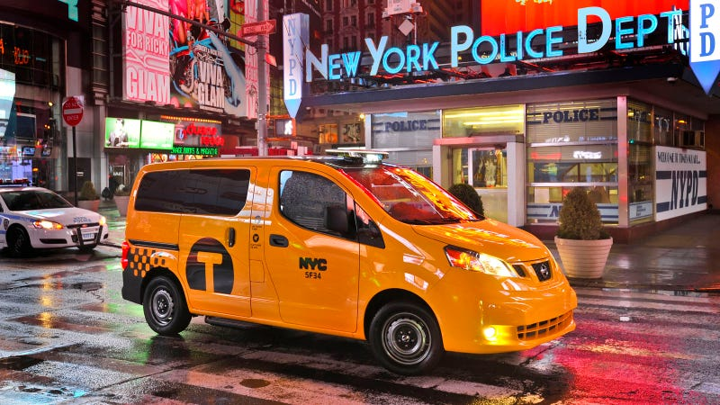 Nissan Taxi NYC Gallery