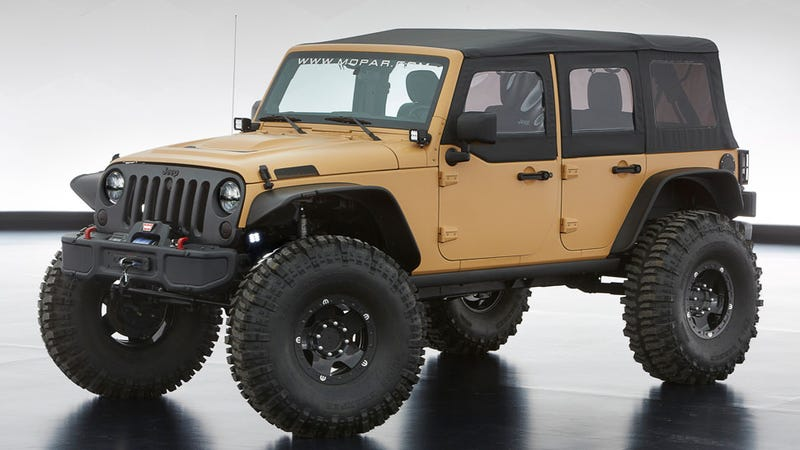 Jeep's Moab Safari Concepts Reveal A New Obsession With Slush Mats