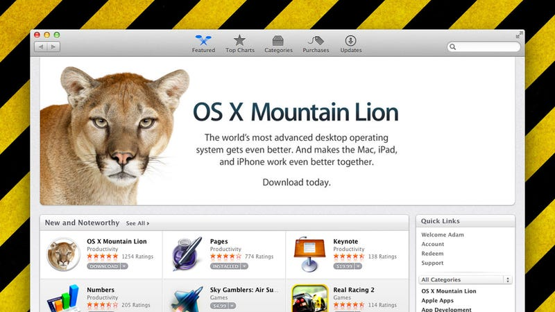 Install Mountain Lion on As Many Macs As You Want Without Purchasing Additional Copies