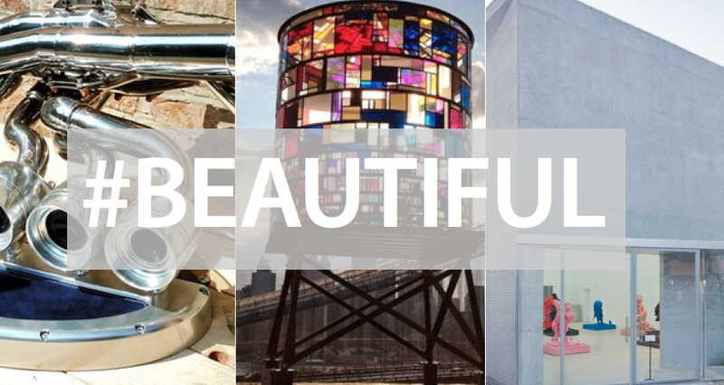 Chainmail Building, Stained-Plexiglas Water Tower, and More