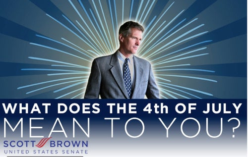 Scott Brown Wants To Read Your Independence Day Essays! (For $50)