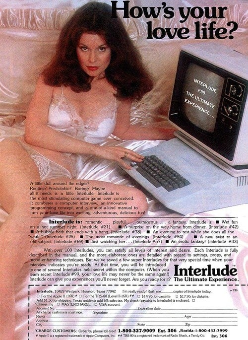Remember When Getting Sexy With A Computer Was A New Concept?