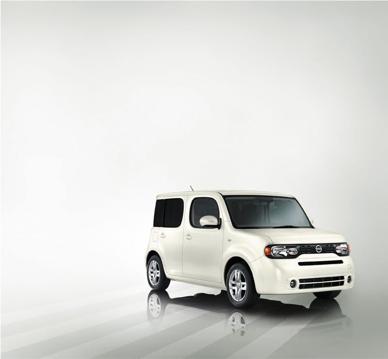 2010 Nissan Cube Unveiled Early