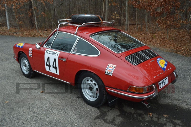 Paging Dusty Ventures: Porsche Rally Car For Sale