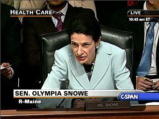 Breaking: Snowe's A Go For Health Care Bill