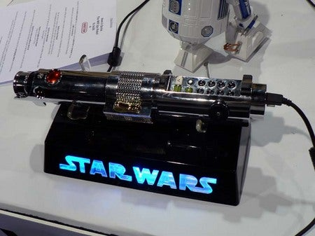 Confess Your Nerdom with a Lightsaber Skype Phone
