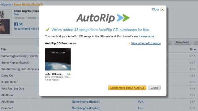 Amazon to Provide CD Buyers With Cloud-Based MP3s For Free (Update: It's Just Launched!)
