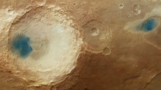 What Are These Strange Blue Splotches On The Surface Of Mars?