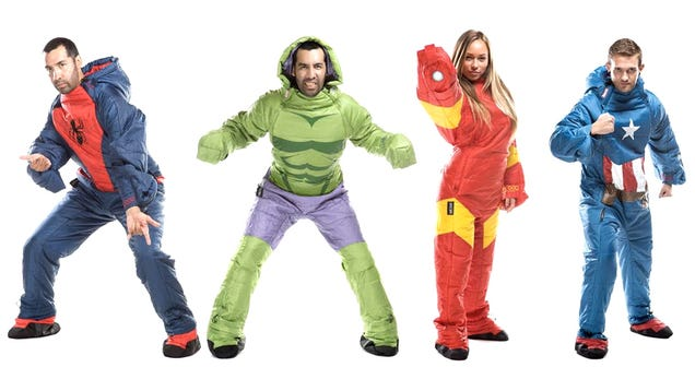 Wearable Marvel Sleeping Bags Marvel