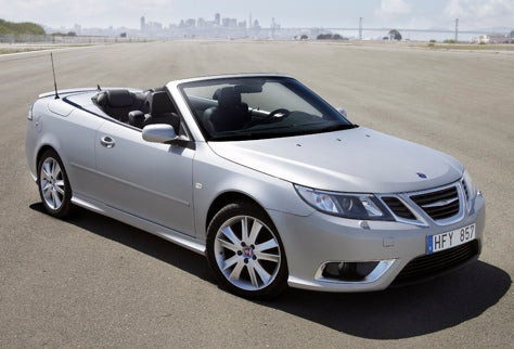 Off Comes the Top: New Saab 9-3 Convertible