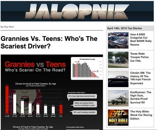 Sign Up For Our Newsletter, Get Some Jalopnik In Your In-Box
