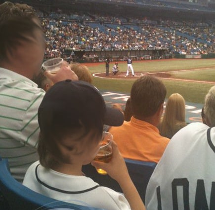 Yet Another Kid Caught Drinking Beer At A Baseball Game