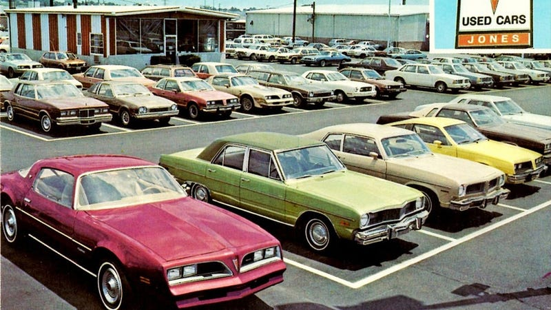 Proof car dealerships were a pretty rough place to be in 1980