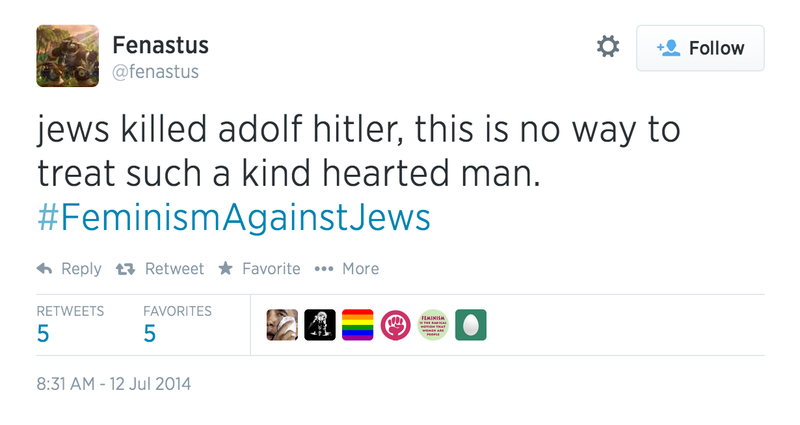 Let's Just Nip This In The Bud: #FeminismAgainstJews Is a 4chan Hoax