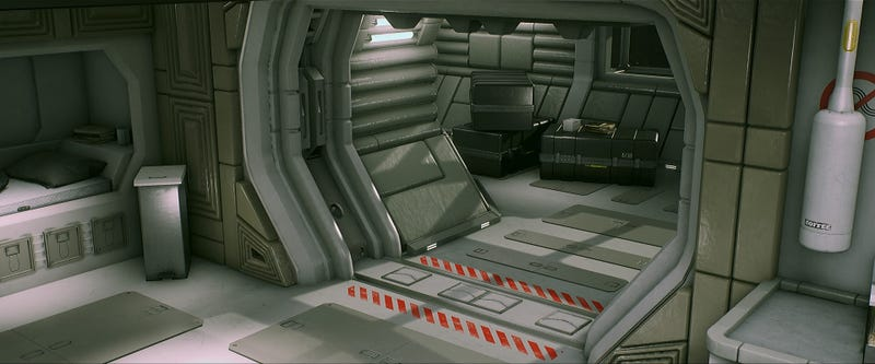 Alien: Isolation Fanart Really Nails The 'Deserted Space Station' Feel