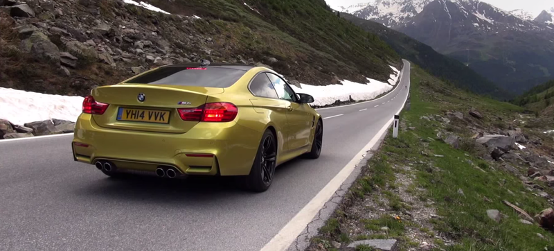 A 1000 Mile Road Trip Across Europe In The 2015 BMW M4