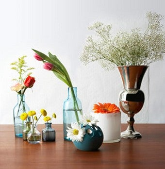Get Fresh Flowers Throughout Your House by Splitting Mixed Bouquets