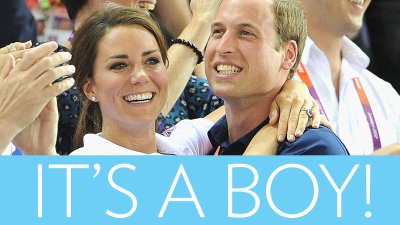Kate Middleton Gives Birth to Baby Boy [Updating]
