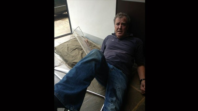 How Did Jeremy Clarkson End Up On The Floor Again?