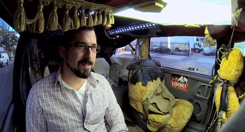 Video Game Taxi Surprises, Confuses Real Passengers