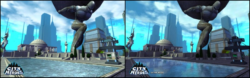 City Of Heroes Gets A Visual Makeover