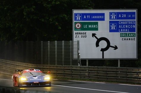 Anything That Happens Before Or After Is Just Waiting: 24 Hours of Le Mans, 2007