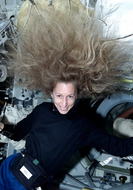 NASA once issued a memo warning of the dangers of low-gravity hair