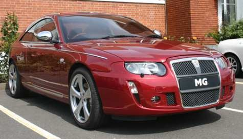 Out of Mothballs: Rover MG 7 Coupe Concept