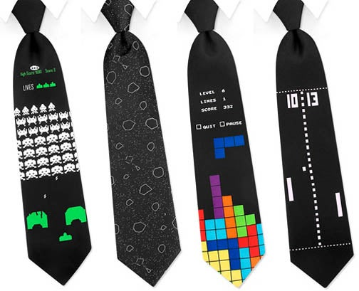 Vintage Gaming Ties Futilely Subvert Corporate Authority
