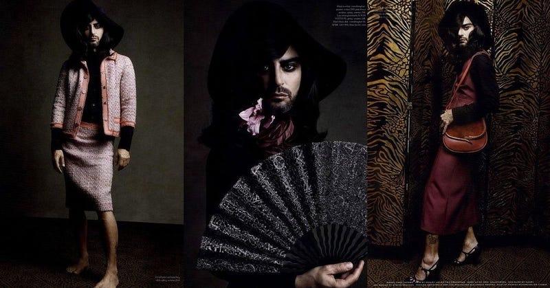 Marc Jacobs Dresses Up Like A Lady