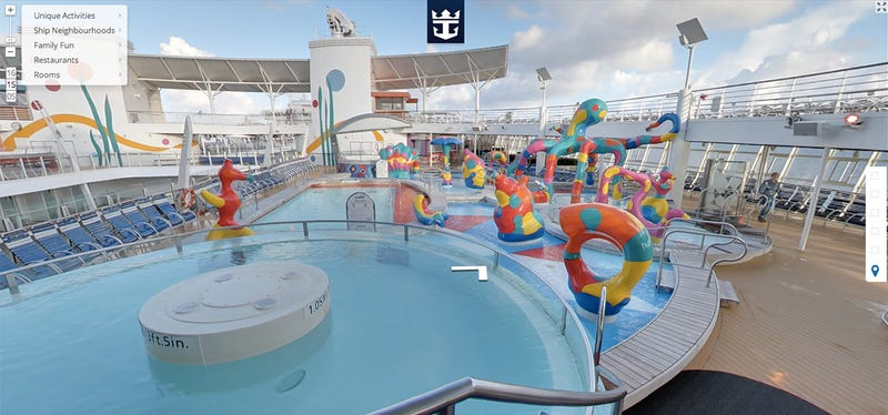 Explore the Largest Cruise Ship In the World With Google Street View