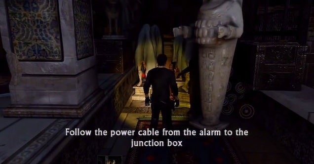Uncharted 2's Museum Level Sucked