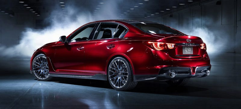 GT-R Powered Q50 Eau Rouge Could Be $100,000 And Spawn Other Cars
