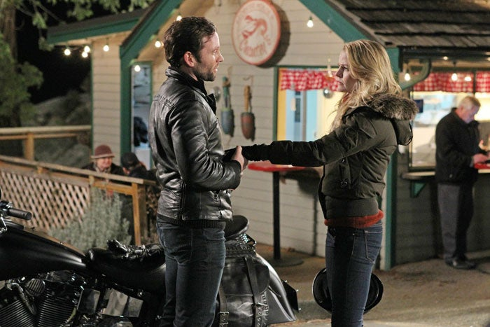 Once Upon a Time Production Pictures- The Stranger
