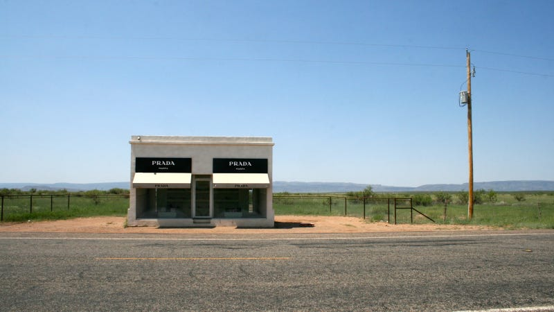 Stupid Playboy Marfa Attraction May Kill Awesome Prada Marfa