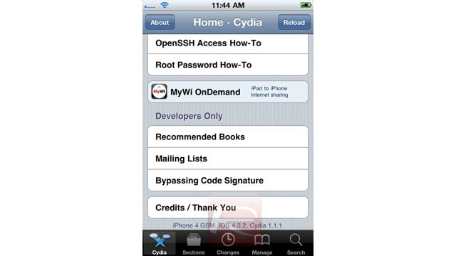 The Tethered Jailbreak For iOS 4.3.2 Is Already Out Using PwnageTool