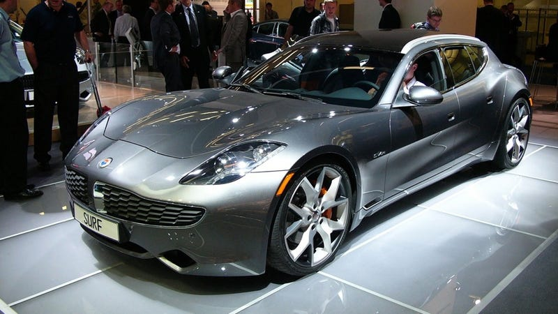 Fisker Surf: Because the still-not-for-sale Karma needed a wagon