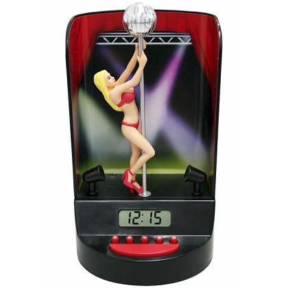 Pole-Dancer Alarm Clock Gets You Up in Every Sense of the Word