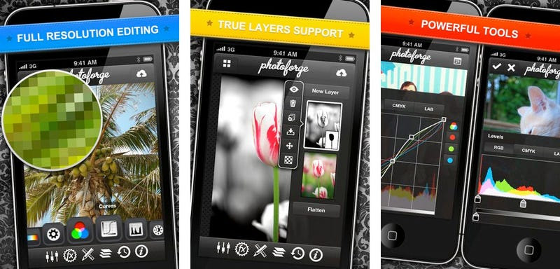 PhotoForge2 for iPhone: Big on Editing Power, Small on Price